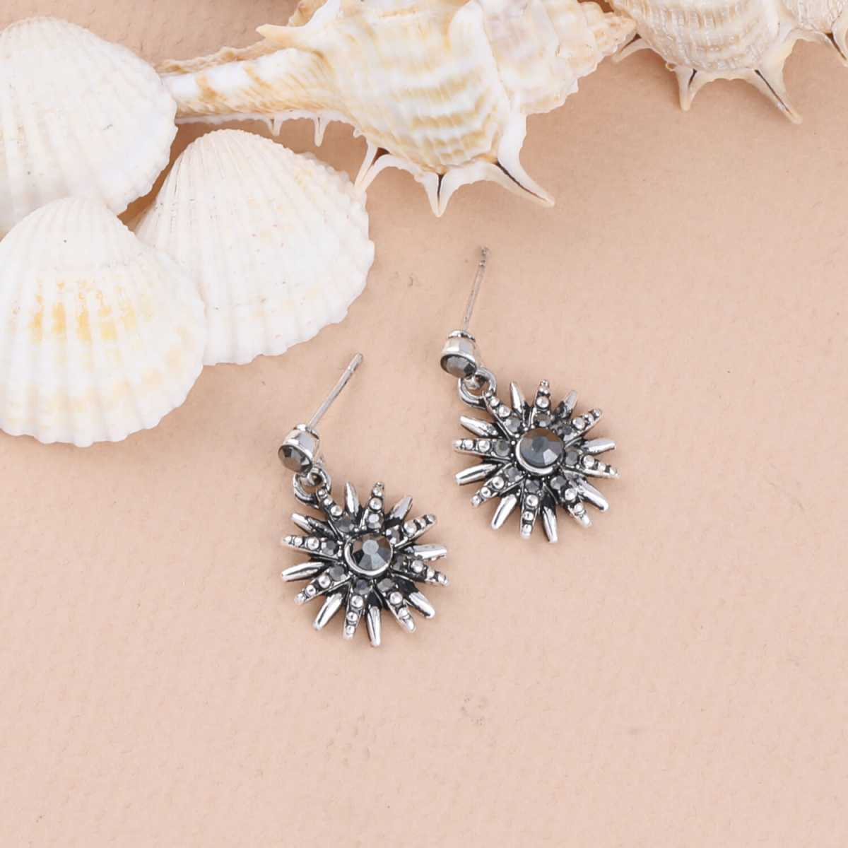 SILVER SHINE Charm Party Wear Stud Earring For Women Girl