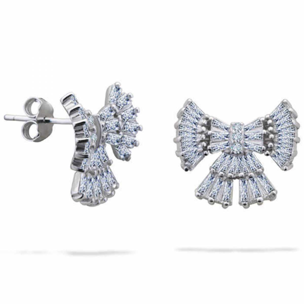 Baw Silver Stud Earring