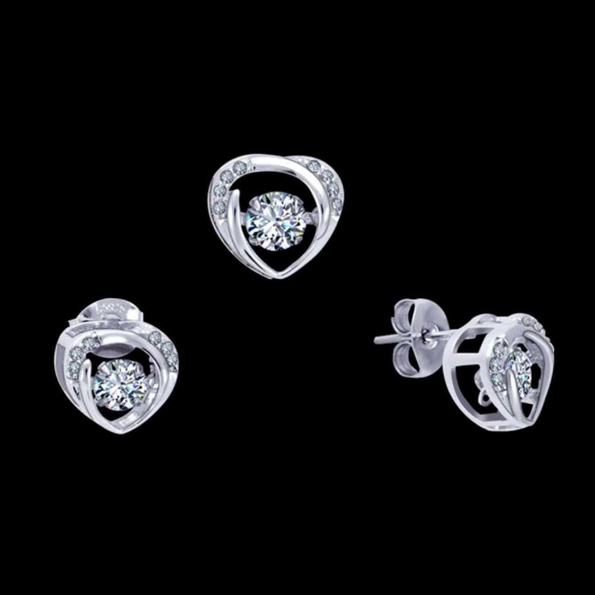 Sweet Heart Sterling Silver Pendant