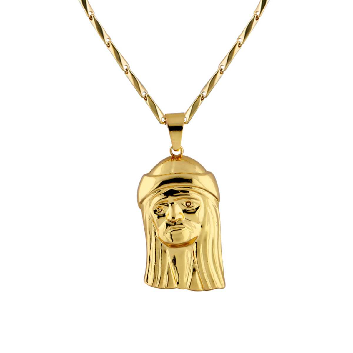 Goldplated Gorgeous Chain With Pendant For Men and boy Jewellery