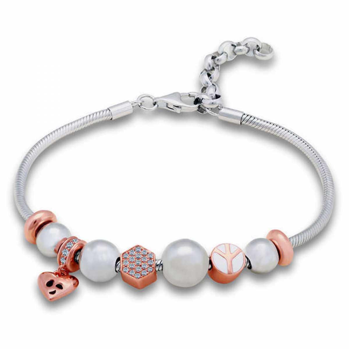 Bracelet With Heart Locket