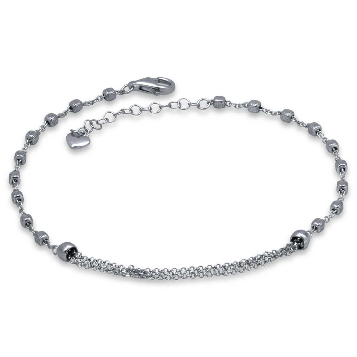 Multi Ball Chain Anklet