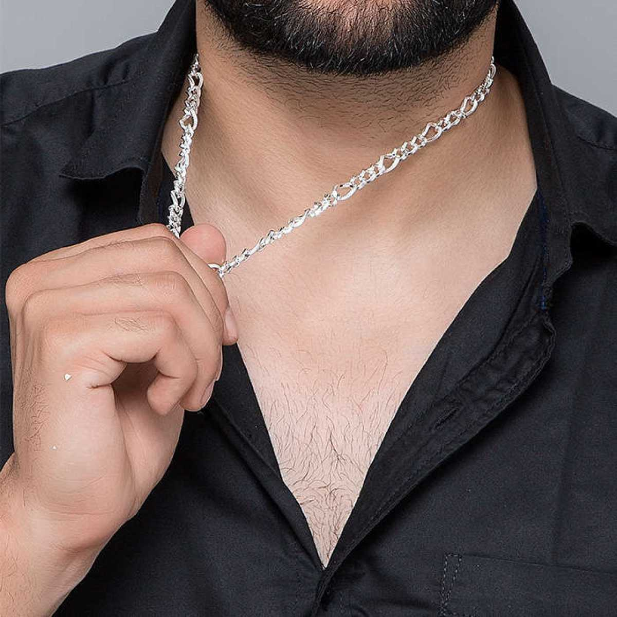 Round Design Men Chain for Men