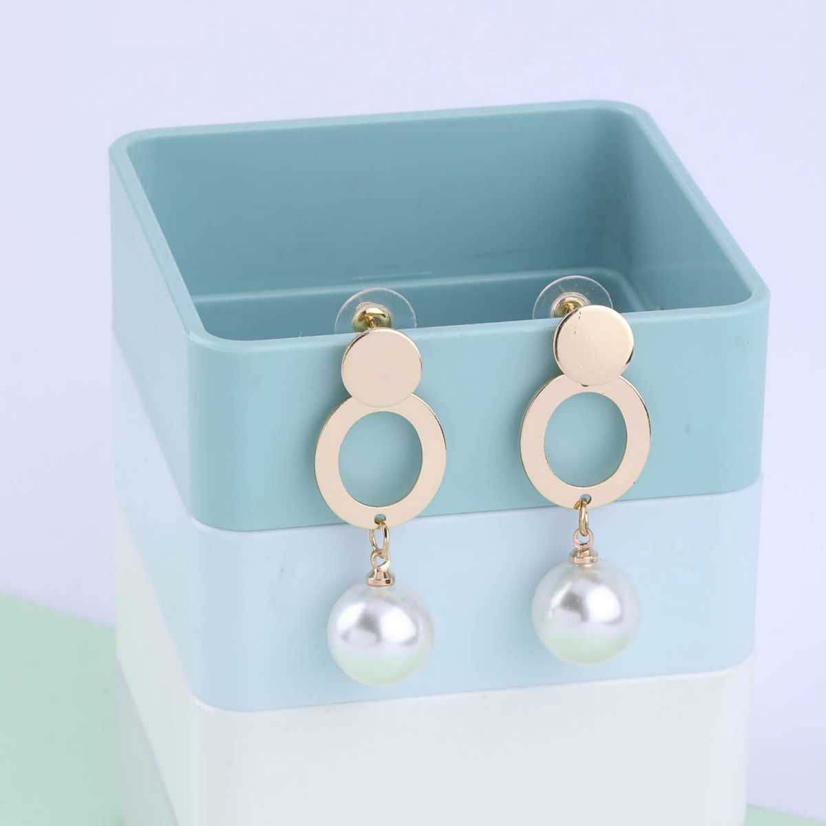 SILVER SHINE Party Wear Stylish Fancy Dangle Earring For Women Girl