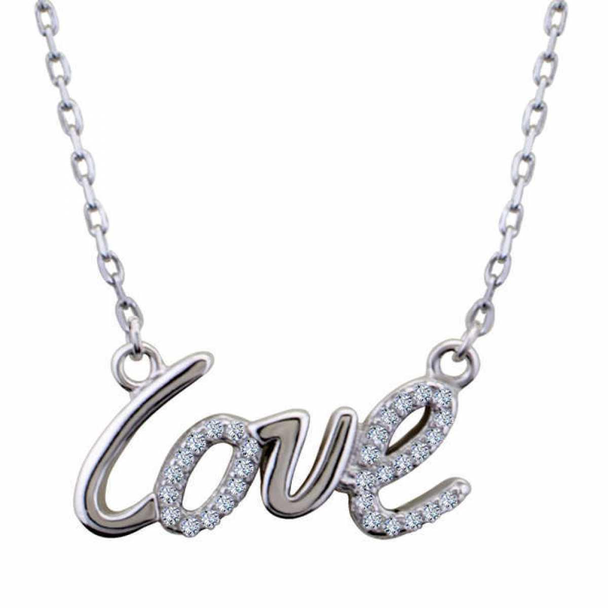 Delicate Love Diamond Chain