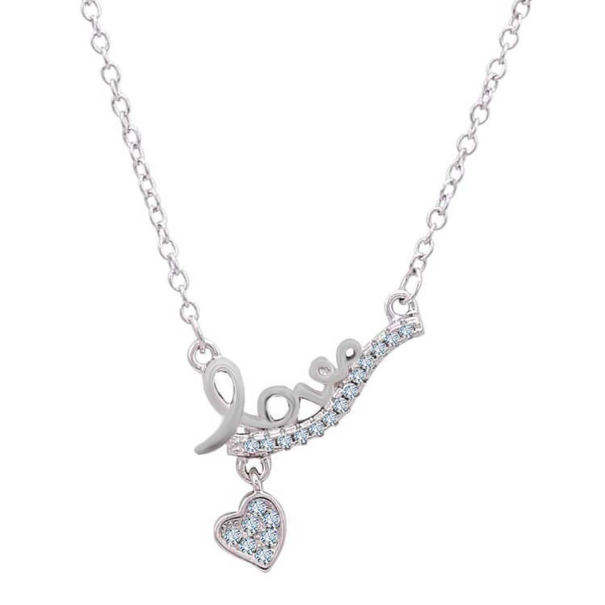 Love Heart Hanging  Chain