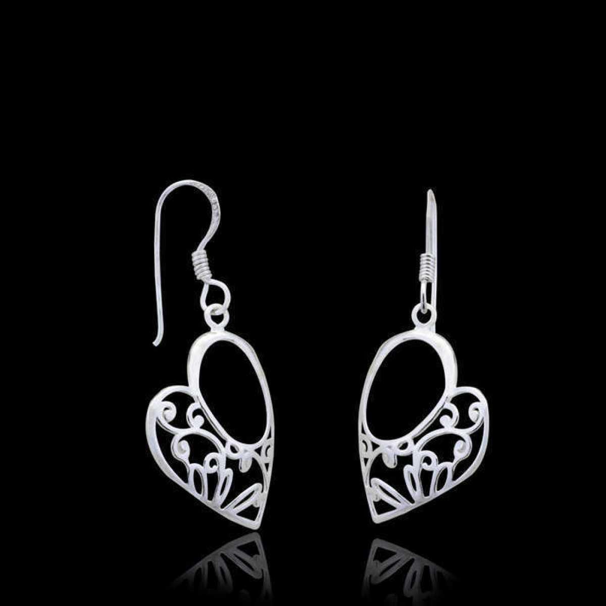 Lover Heart Drop Earring