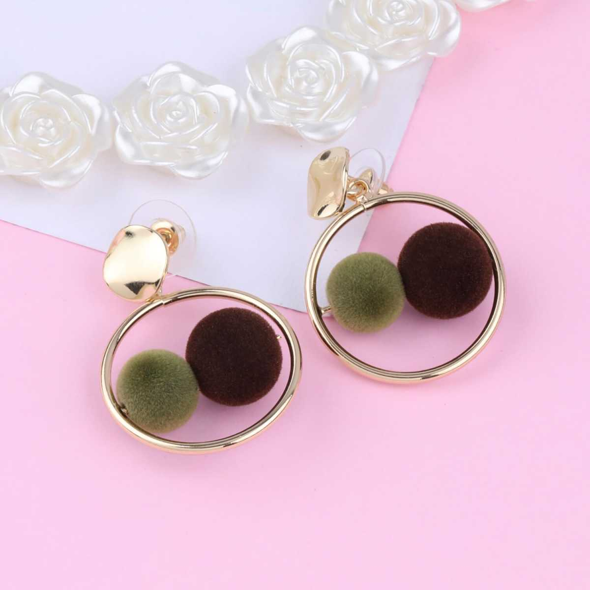 SILVER SHINE Elegant Gold Plated Party Wear Fancy Earring For Women Girl