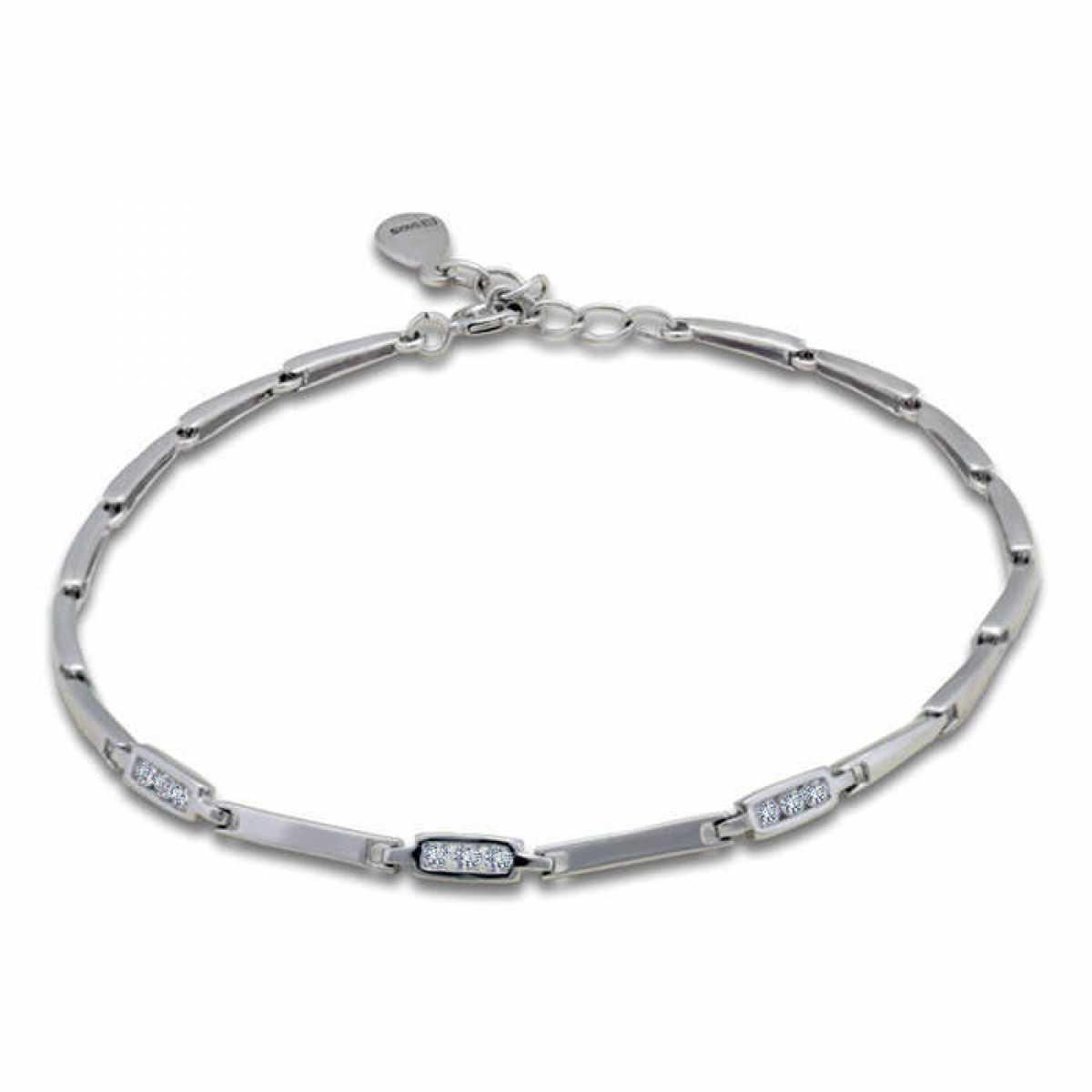 Elegant And Delicate Silver Bracelet