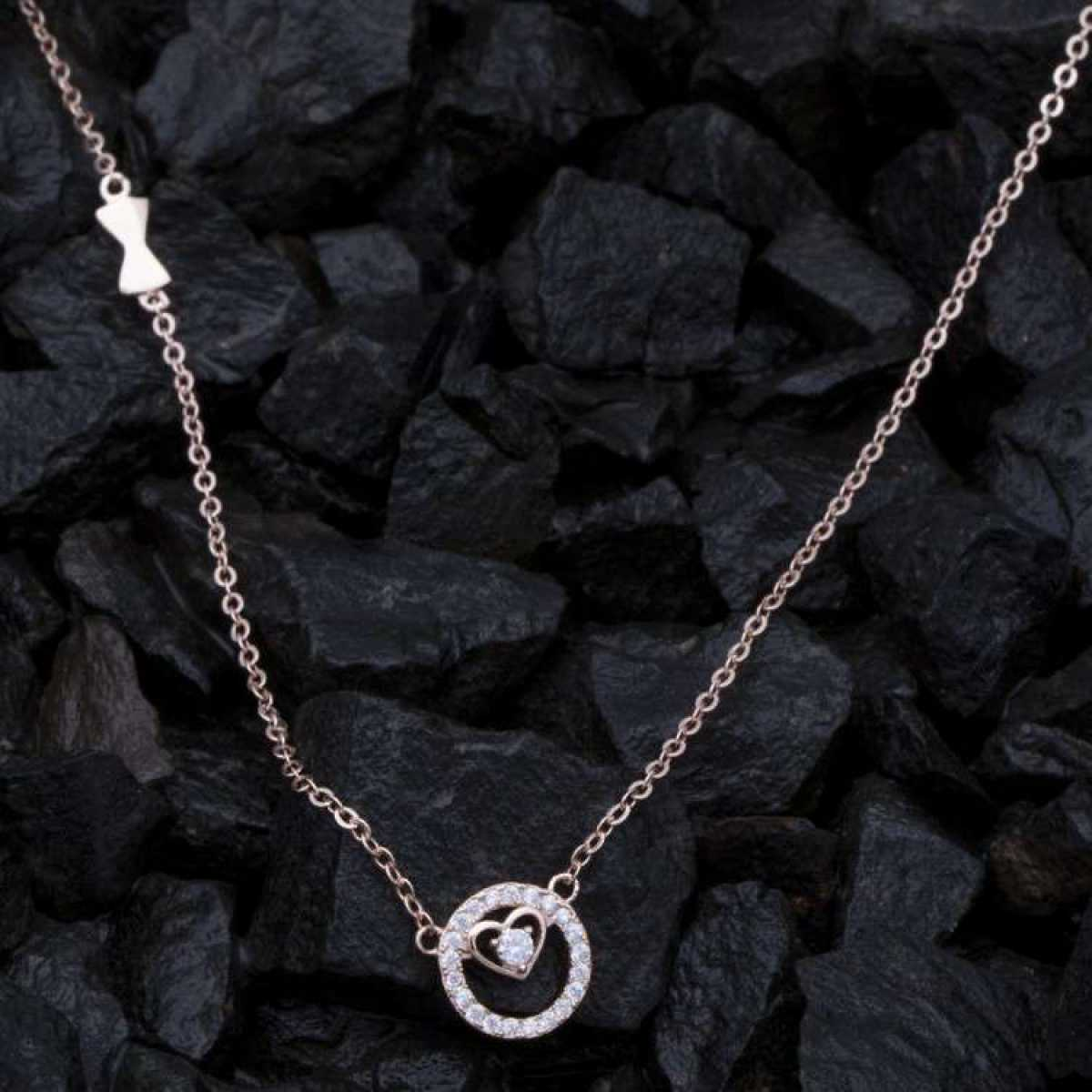 Sweet Flower New Sterling Silver  Chain