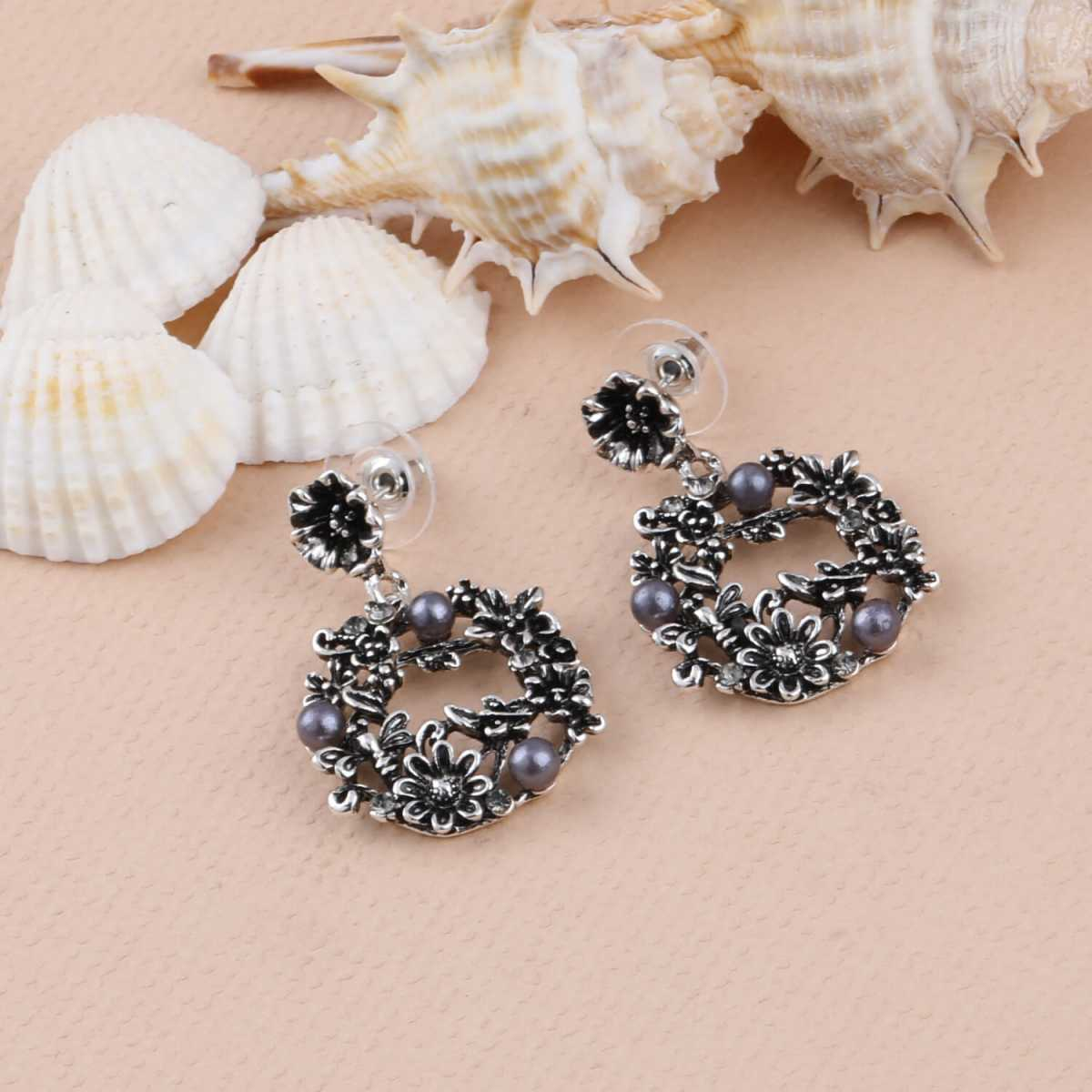 SILVER SHINE Party Wear Stylish Charm look Earring For Women Girl
