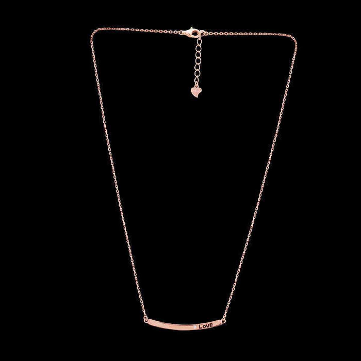 Love Single Diamond Chain