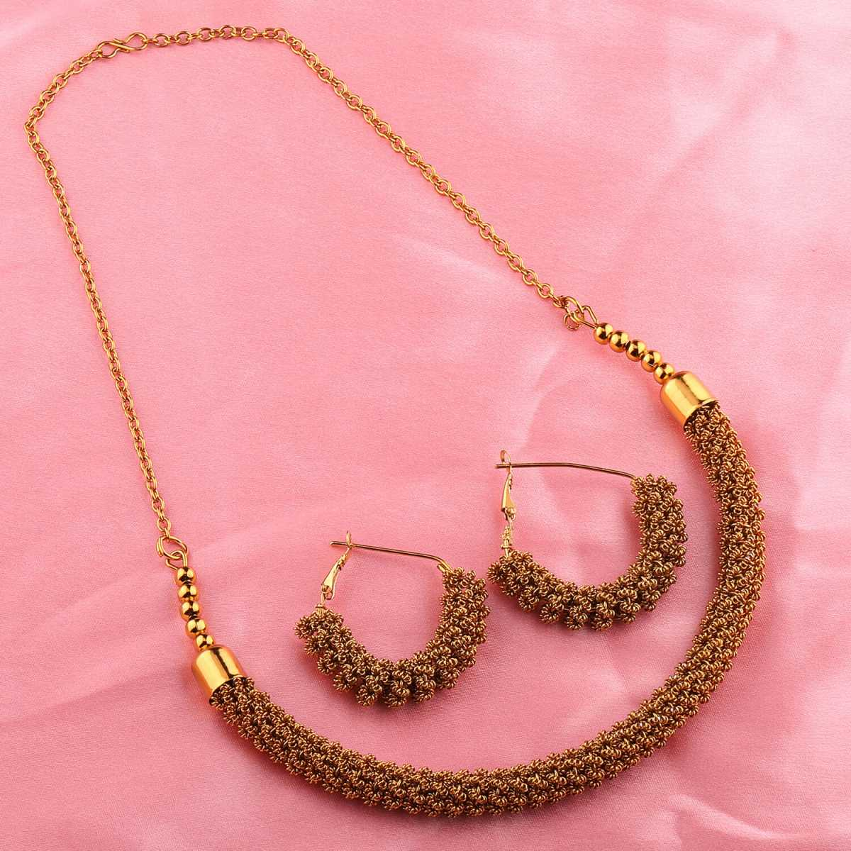 GoldPlated Designer Necklace Set for women Jewellery Set