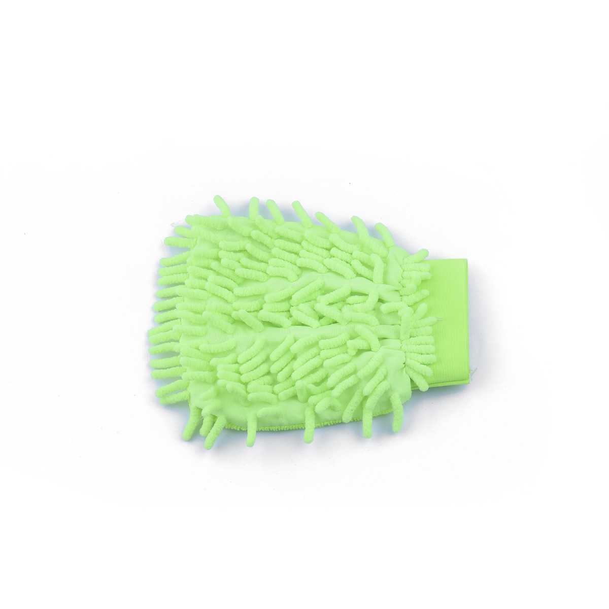 Silver Shine Microfiber Chenille & Glass Cloth Mitt, 1 Piece Multi-Purpose Super Absorbent and Perfect Wash Clean with Lint-Scratch Free Home, Kitchen, Window,(Assorted Color)