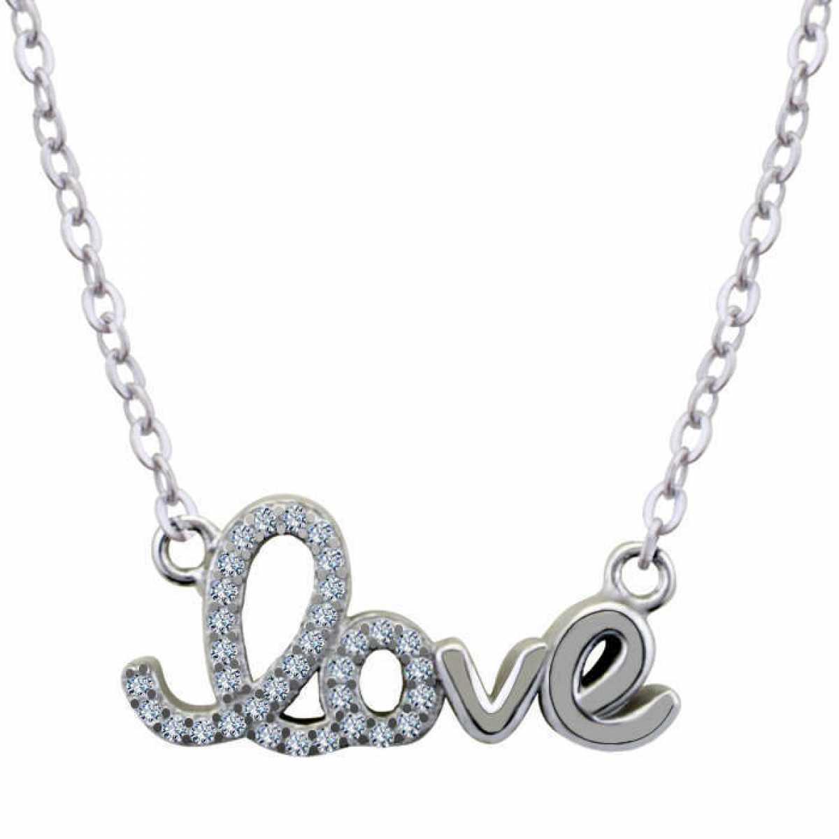 Delicate Love Silver Chain