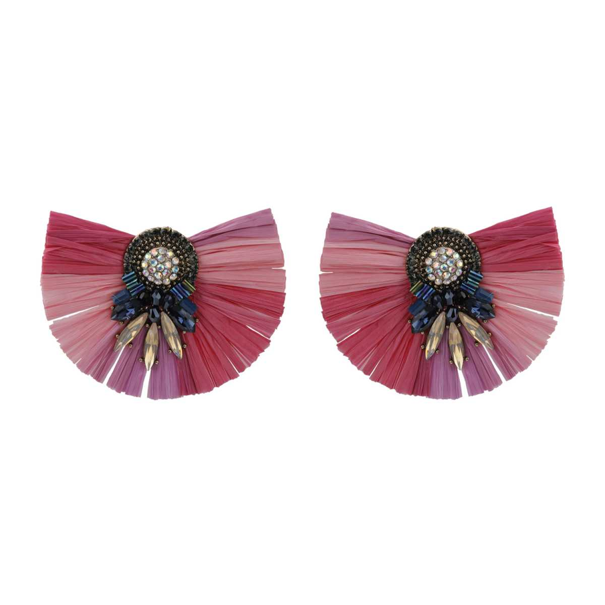 Silver Shine Handicraft Pink  Eye-Catching Stud earring For Girls And Women