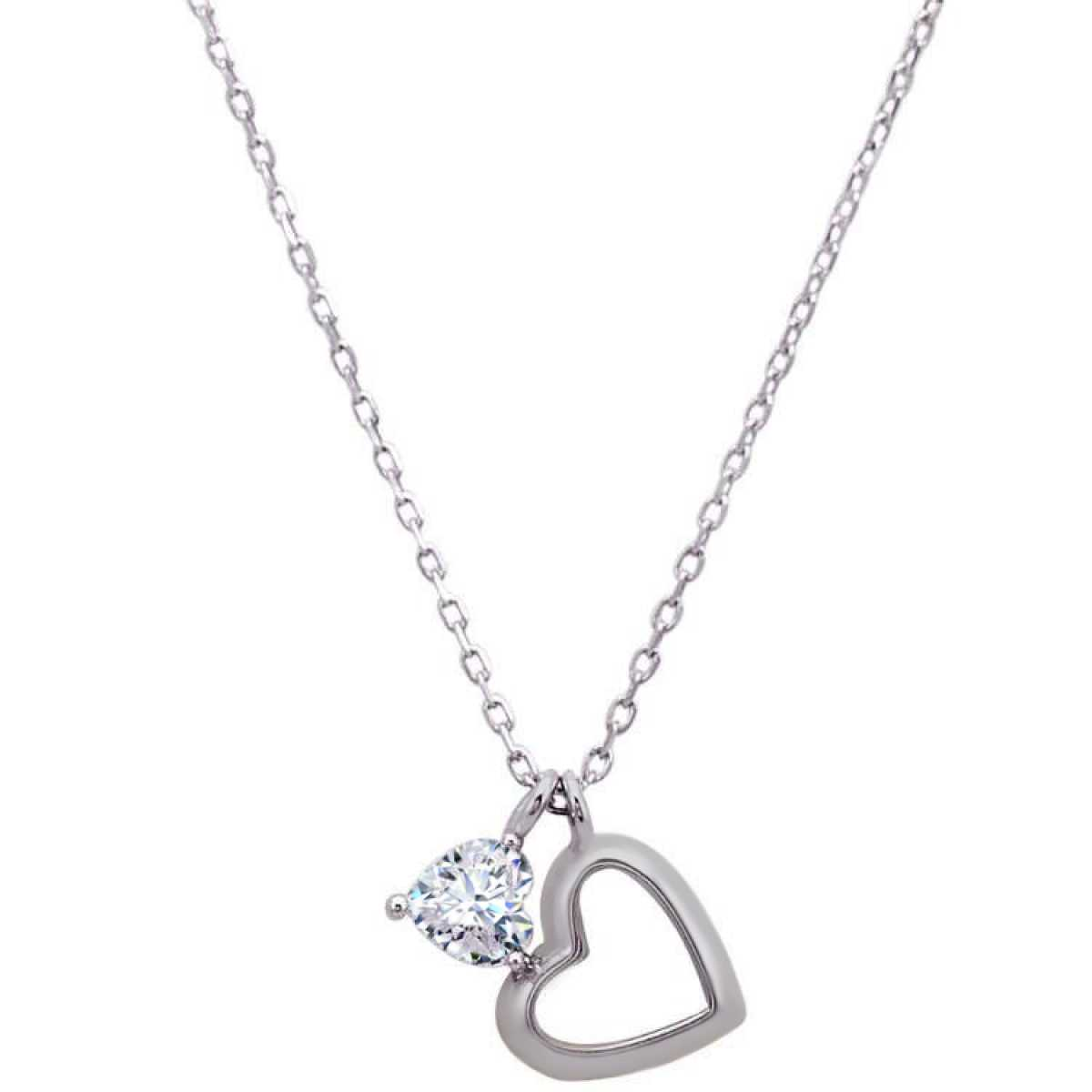 Hanging Heart  Chain
