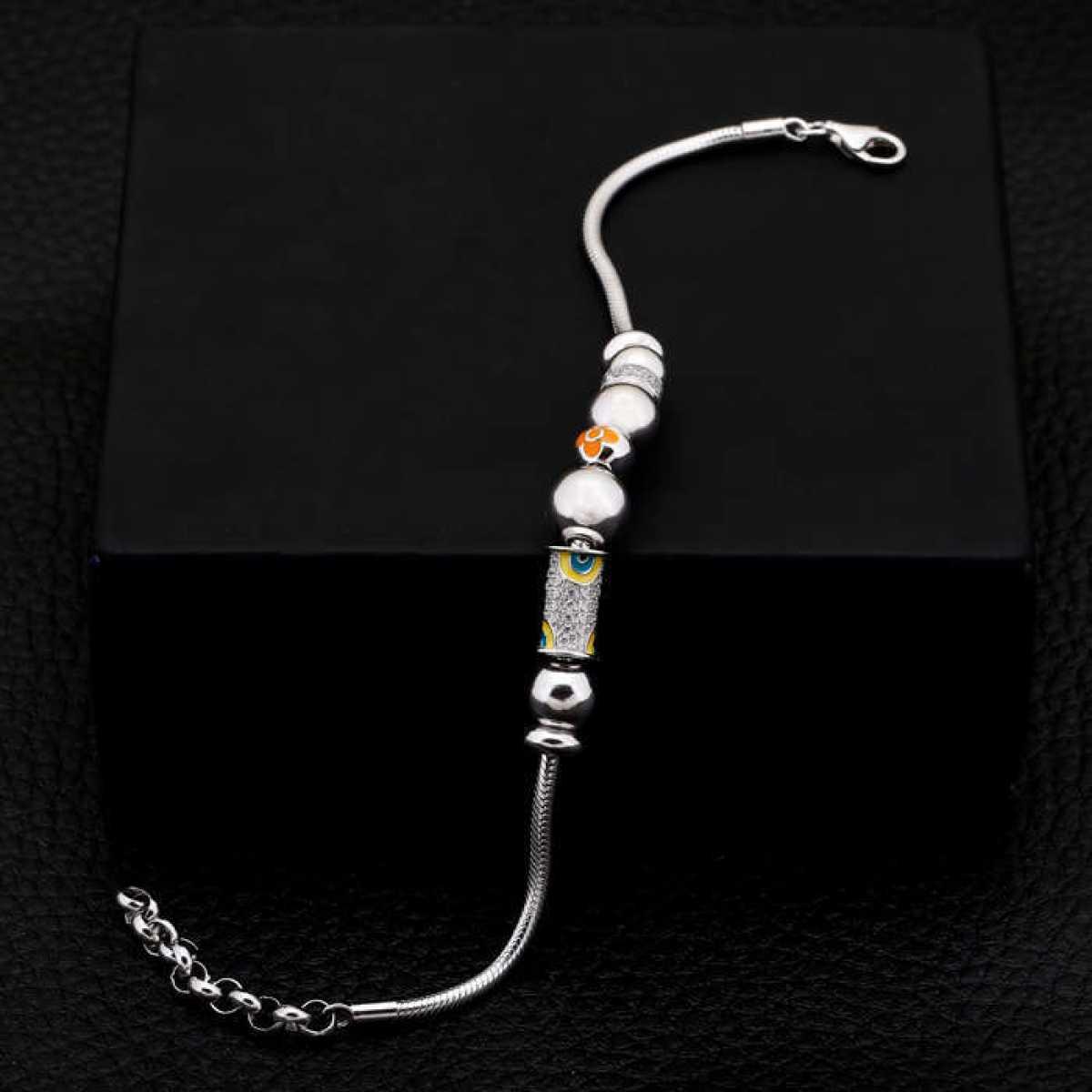 Silver Balls Lovely Bracelet