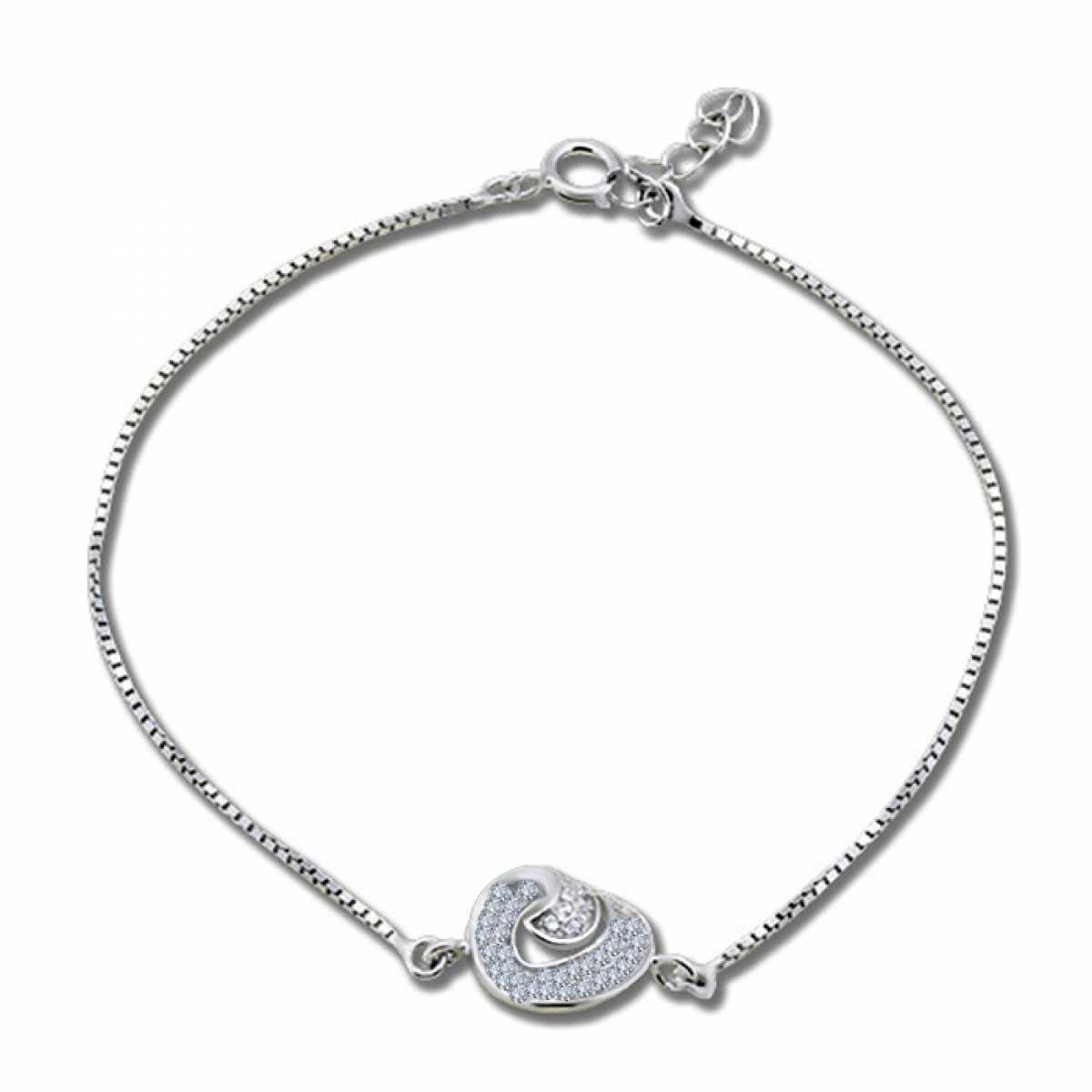 Smart Circle Silver Bracelet