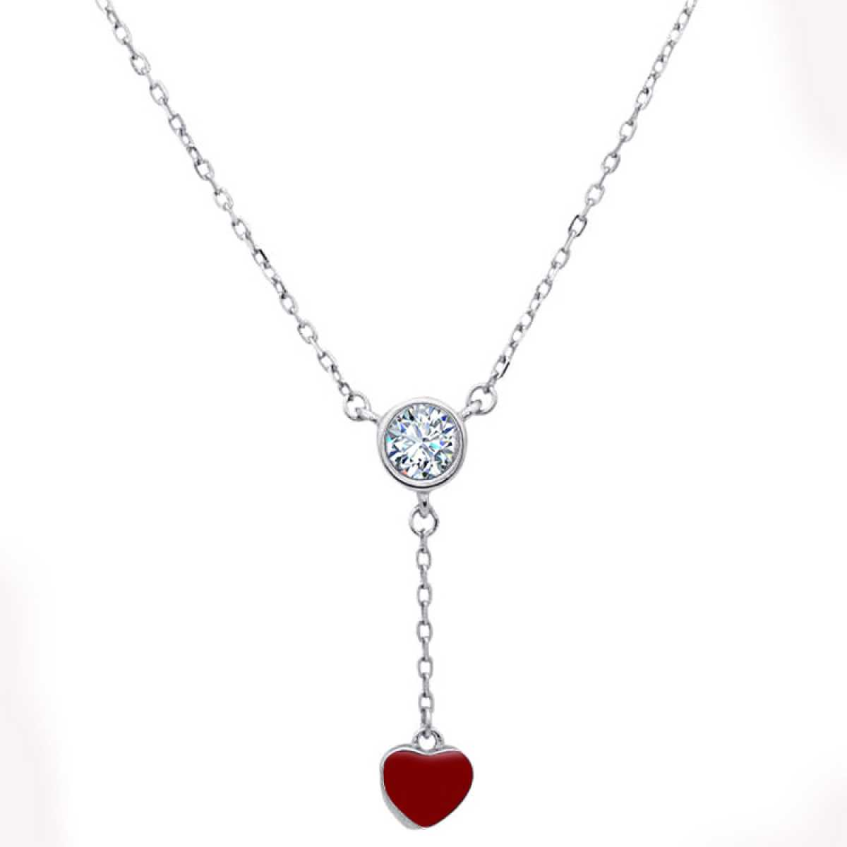 Love For Ever Sterling Silver  Chain