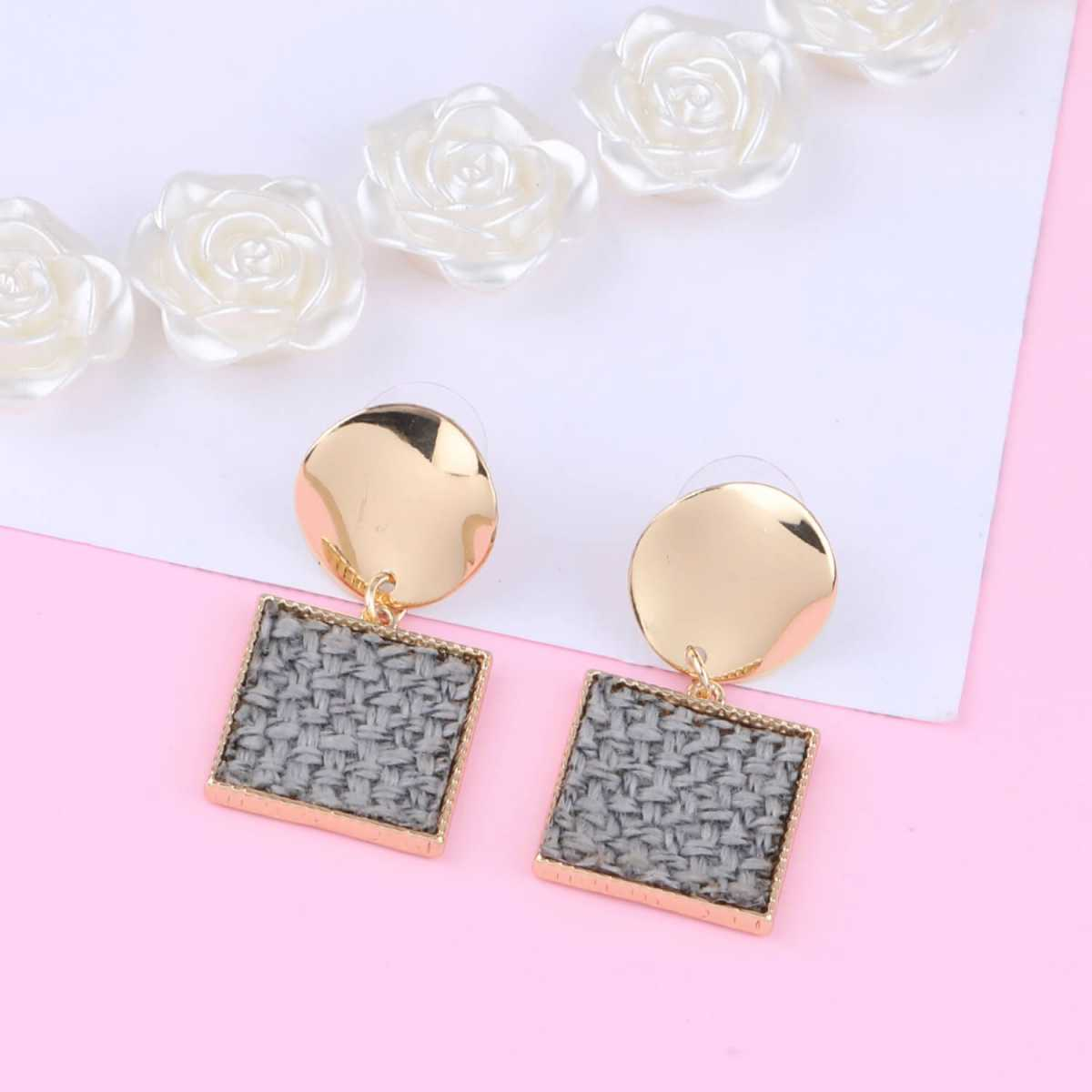 SILVER SHINE Gold Plated Charm Designer Earring For Women Girl